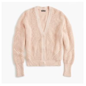 J.Crew Ribbed Cardigan Sweater